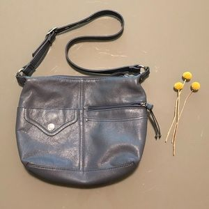 Stone & Co Leather Bag (Denim Collection)